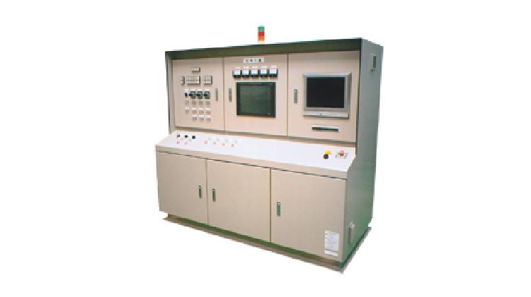 汚泥処理監視装置操作盤