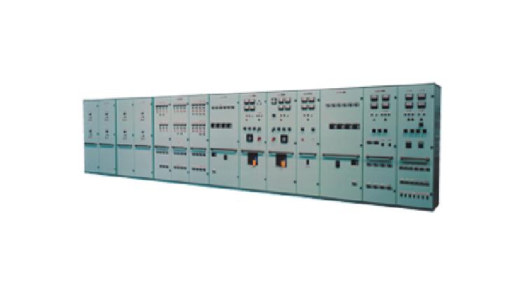 主配電盤・油圧ポンプ集合始動器盤